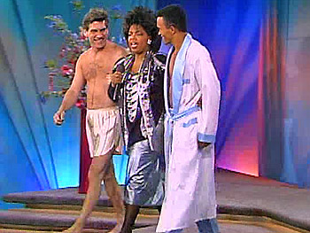Oprah's 80's fashion.