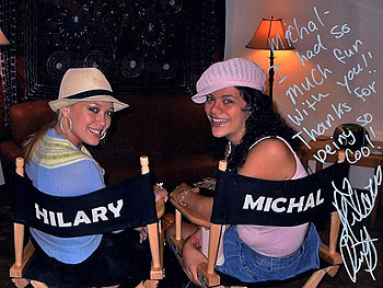 Hilary and Michelle