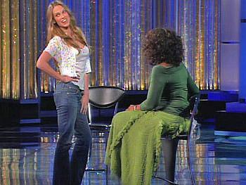 Hilary Swank and Oprah