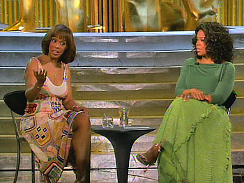 Gayle King and Oprah