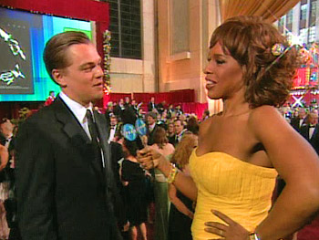 Leonardo DiCaprio and Gayle King