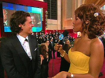 Orlando Bloom and Gayle King