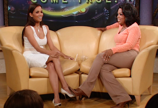 Halle Berry and Oprah