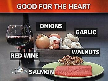 Omega 3 fatty acid-rich foods for heart health