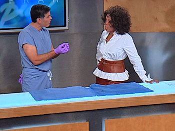 Dr. Mehmet Oz and Oprah