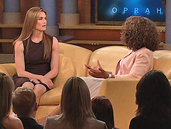 Brooke Shields and Oprah