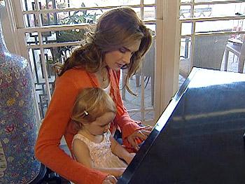 Brooke Shields and her daughter Rowan