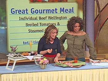 Rachael Ray and Oprah