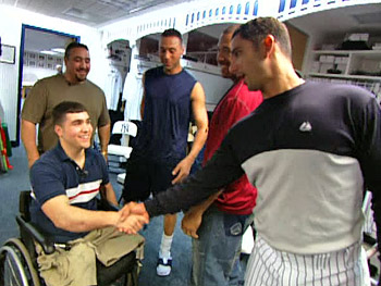 John meets the Yankee greats