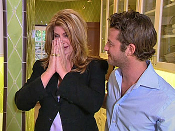Kirstie Alley and Nate Berkus