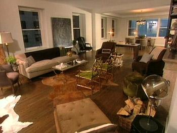 Nate Berkus's living room