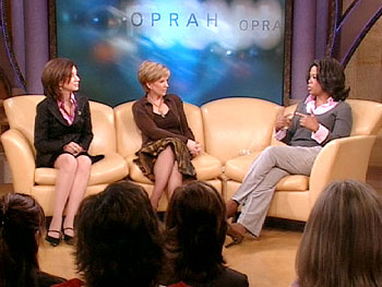 Dr. Gail Saltz, Anne Robinson and Oprah