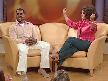 Kanye West's first time on 'The Oprah Winfrey Show' stage