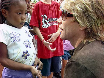 Jon Bon Jovi at the Northern Home for Children