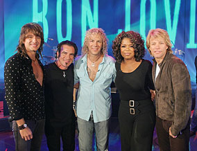 Jon Bon Jovi and his band donate $1 million to Oprah Katrina Homes