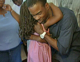 Chris Rock helps survivors of Hurricane Katrina.