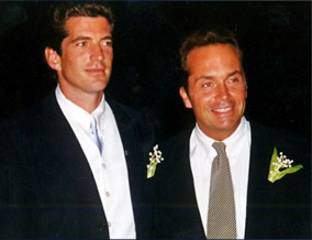 John F. Kennedy Jr. and Anthony Radziwill