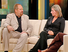 Rick Warren, author of 'The Purpose Driven Life,' and Ashley Smith