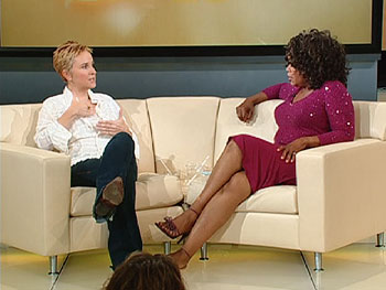 Melissa Etheridge and Oprah