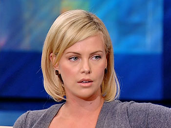 Charlize Theron, star of 'North Country'