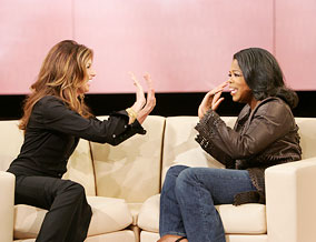 Faith Hill and Oprah