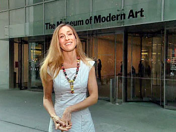 Sarah Jessica Parker at the MoMA