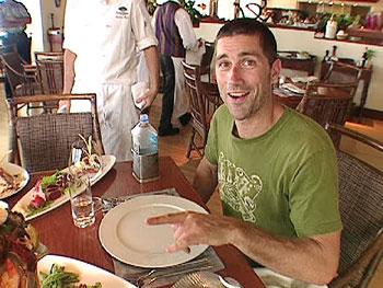 Matthew Fox at Hoku's