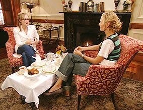 Meryl Streep and Uma Thurman