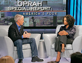 Anderson Cooper and Oprah