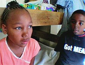 Steve and Luwana's daughter