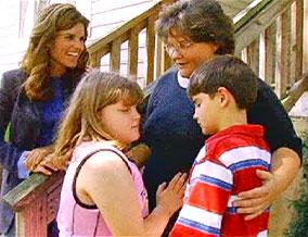 Brenda and her children