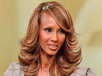Iman, author of 'The Beauty of Color'
