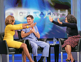 Gayle King Dr. Oz and Oprah