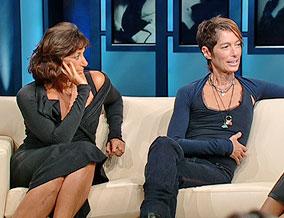 Donna Karan and Lynn Kohlman