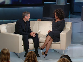 George Clooney and Oprah