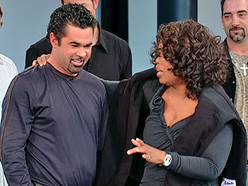 Ozzie Guillen and Oprah