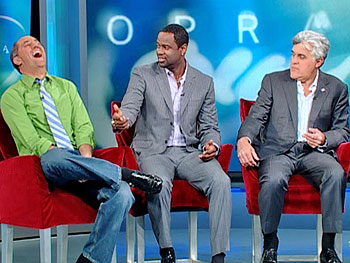 Jay Leno, Brian McKnight and Rick Reilly