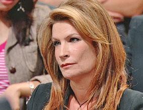 Television reporter Michele Gillen