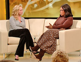 Mindy McCready and Oprah Winfrey