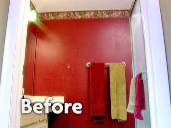 Sara's bathroom before