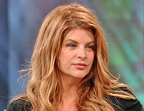 Kirstie Alley 55 pounds heavier