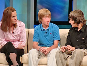 Amanda, Jasper and Colin
