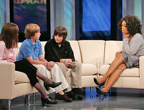 Amanda, Jasper, Colin and Oprah