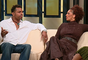 Terry McMillan and Jonathan Plummer