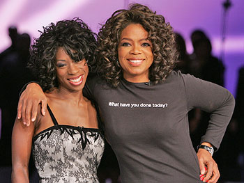 Heather Small and Oprah