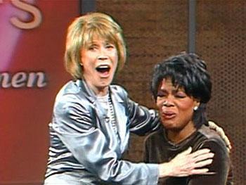 Mary Tyler Moore surprises Oprah