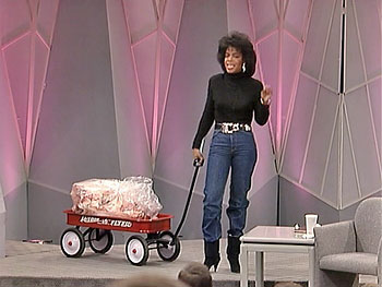 Oprah wheels out the 'fat wagon'