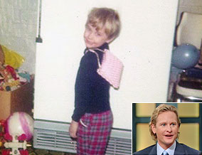 Carson Kressley at 4 years old
