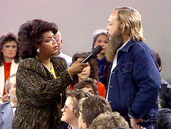 Dennis and Oprah in 1987