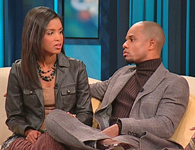 Kirk Franklin and his wife, Tammy